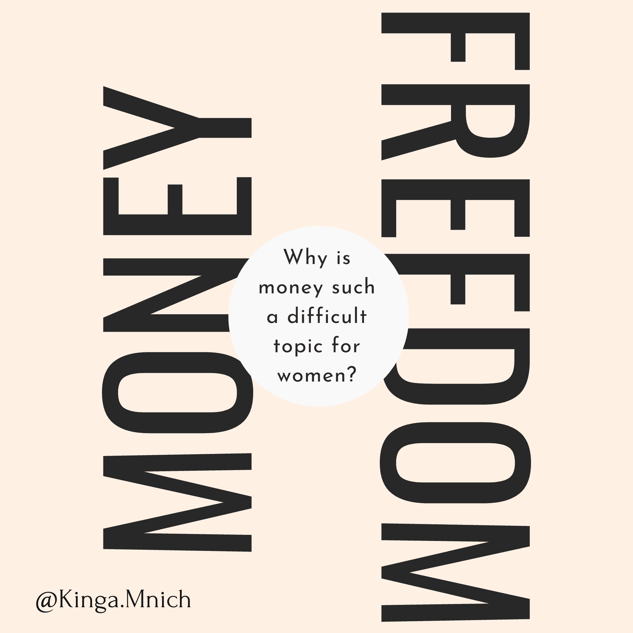 Why is money a difficult topic for women